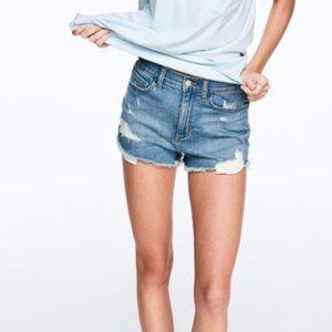 Victoria's Secret PINK High Waisted Denim Shorts